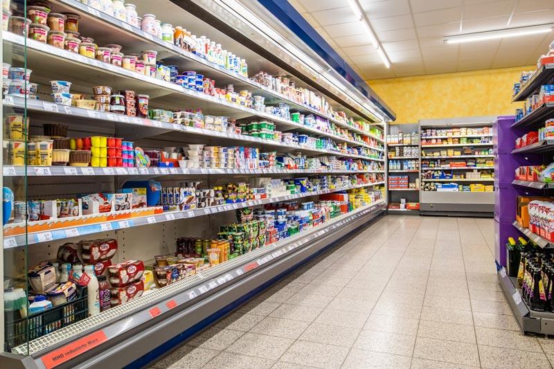 Beleuchtungsersatz für die Frische- und Kühltheken
