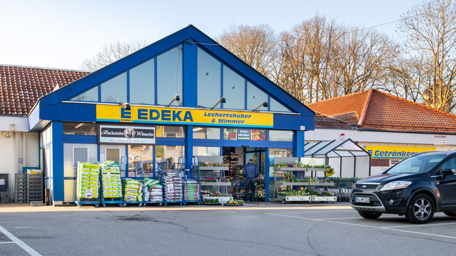 Projekt EDEKA in Schwindegg