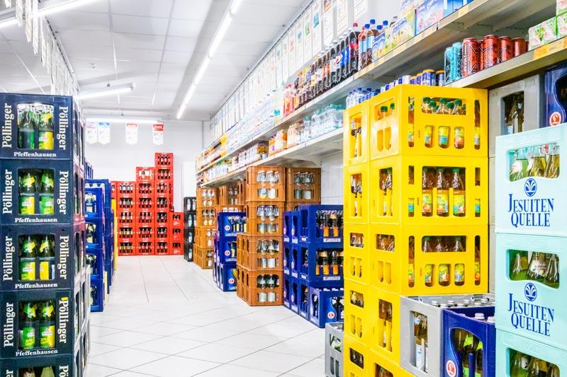 Beleuchtungsumrüstung der Ladengrundbeleuchtung
