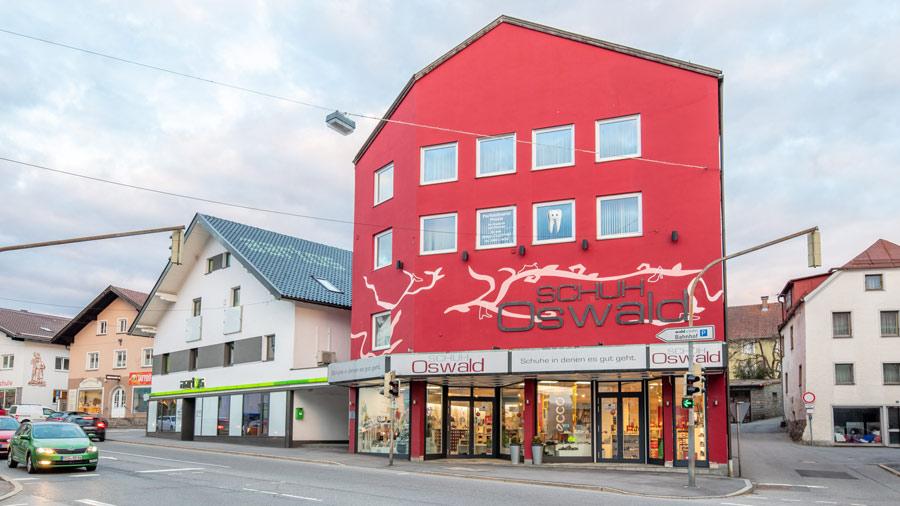 Projekt Schuhaus Oswald in Regen