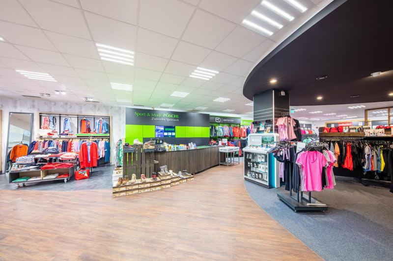 Komplette Lichtplanung mit Verkaufsfördernder Ausrichtung